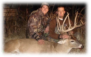 Kansas whitetail deer hunting - trophy racks.